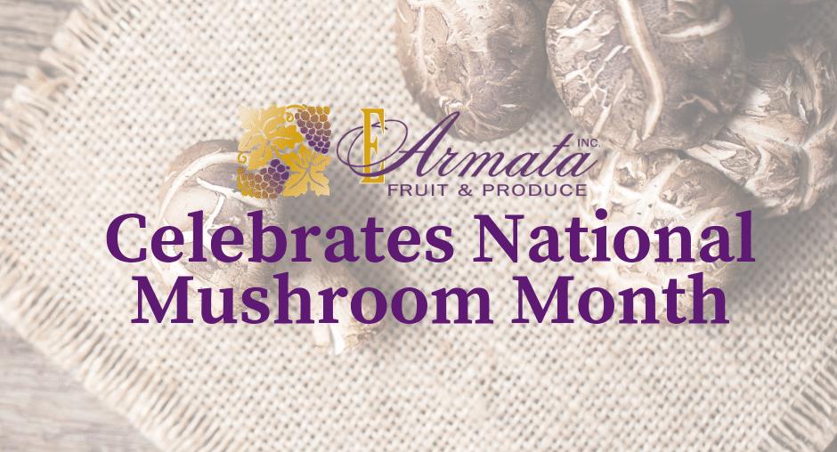 September is National Mushroom Month