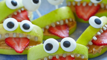 Halloween Apple Bites Recipe